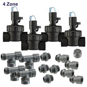 "4 Zone 24 VAC 1\"" Manifold Kit"