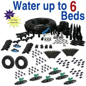 Deluxe Drip Irrigation Kit for Raised Bed Gardening