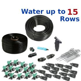 Deluxe Drip Irrigation Kit for Small Farms