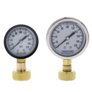 Aqualine 0-200 PSI Pressure Gauge