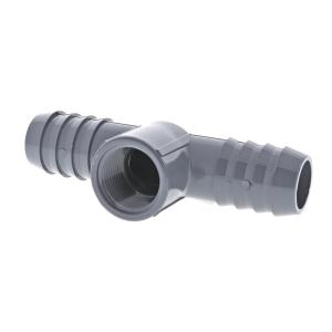 Barb Tubing x FPT Reducing Tee Adapter