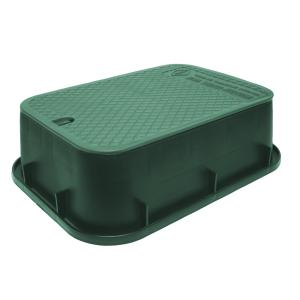 "Dura 6"" Rectangular Valve Box"