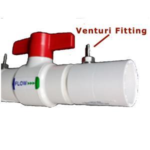 "1/8\"" Venturi Fitting for the EZ-Flo Ball Valve Coupling"