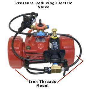 Netafim Pressure Reducing Electric 3-Way Valve