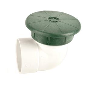 "Tempo Pop-Up Valve Drainage Emitter w/ 3"" Elbow"