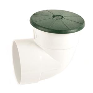 "Tempo Pop-Up Drainage Emitter w/ 4"" Elbow"