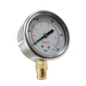 Liquid Filled Pressure Gauge by Irritec