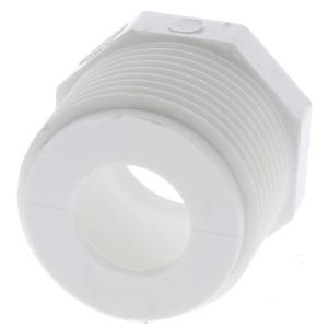Schedule 40 PVC MPT x Slip Bushing Adapter
