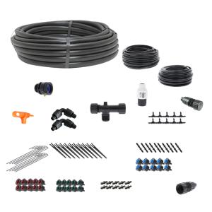 Basic Drip Irrigation Kit for Vegetable Gardens