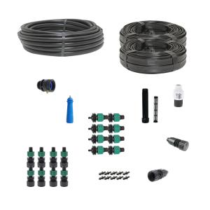 Deluxe Drip Irrigation Kit for Row Crops