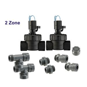 "2 Zone 24 VAC 1"" Manifold Kit"