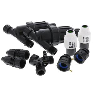 """1/2\"""" Mainline - 15 PSI - 2 Zone Head Assembly"""