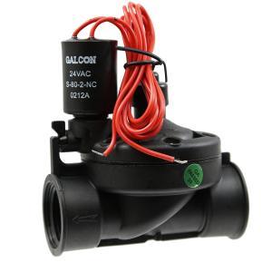 Galcon 24 VAC Electric Valve w/Flow Control