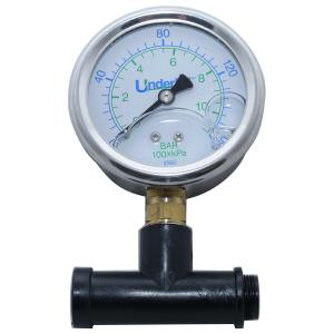 Underhill Pressure Gauge w/adapter for Female Nozzles