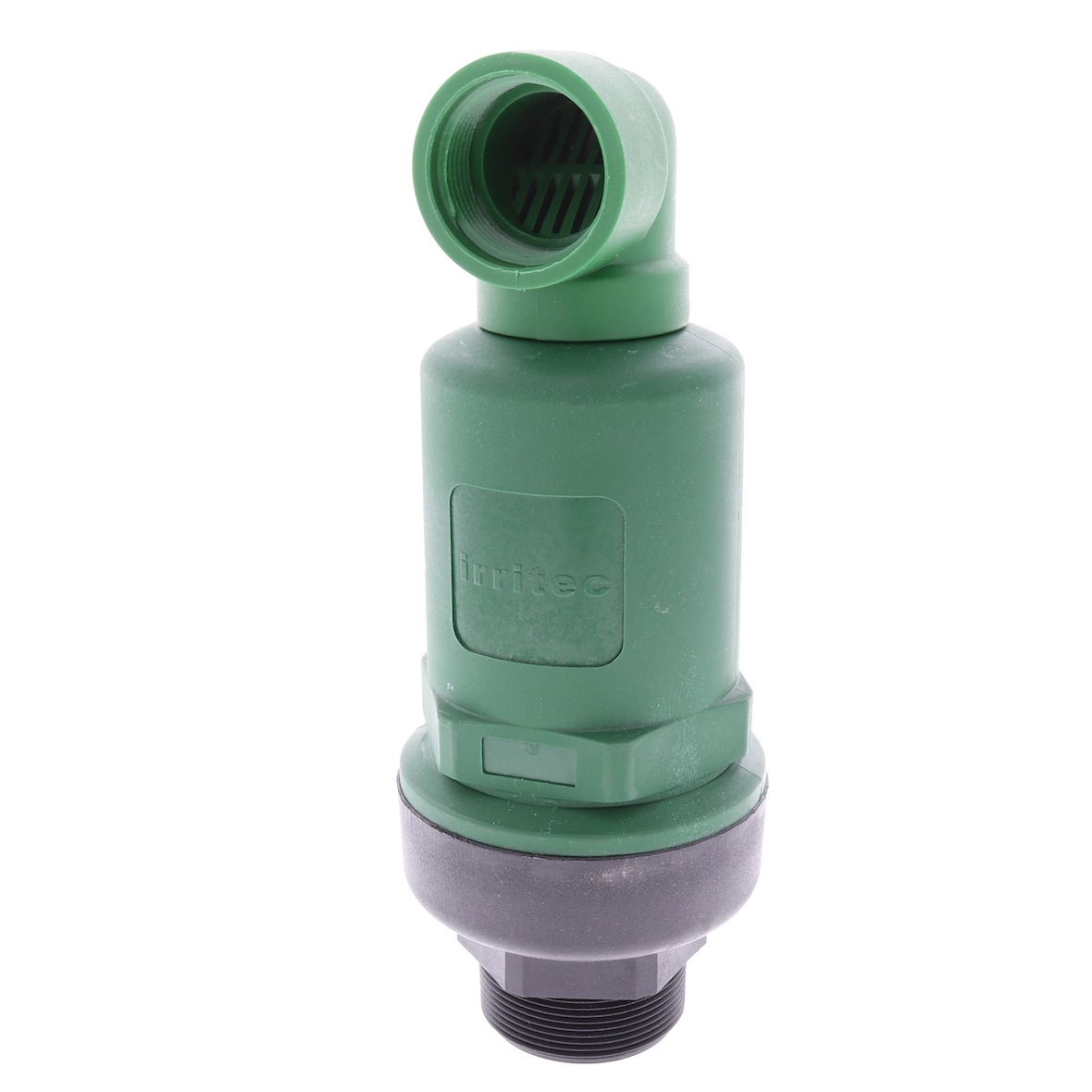 """Kinetic Air Vent and Vacuum Relief Valve by Irritec-Size:1/"""" MPT-w//Pressure Check"""