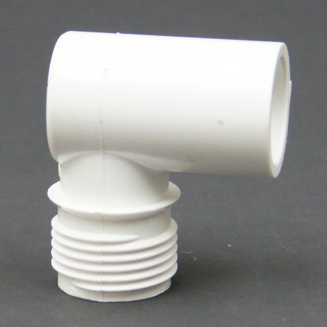 PVC Schedule 40 MHT x Slip Elbow Adapter