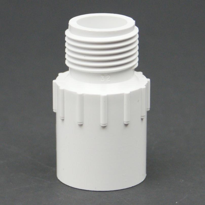 PVC Schedule 40 MHT x Slip Adapter