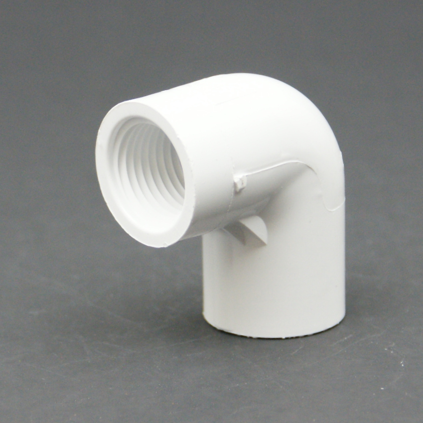 PVC Schedule 40 FPT x Slip Elbow Adapter-1027