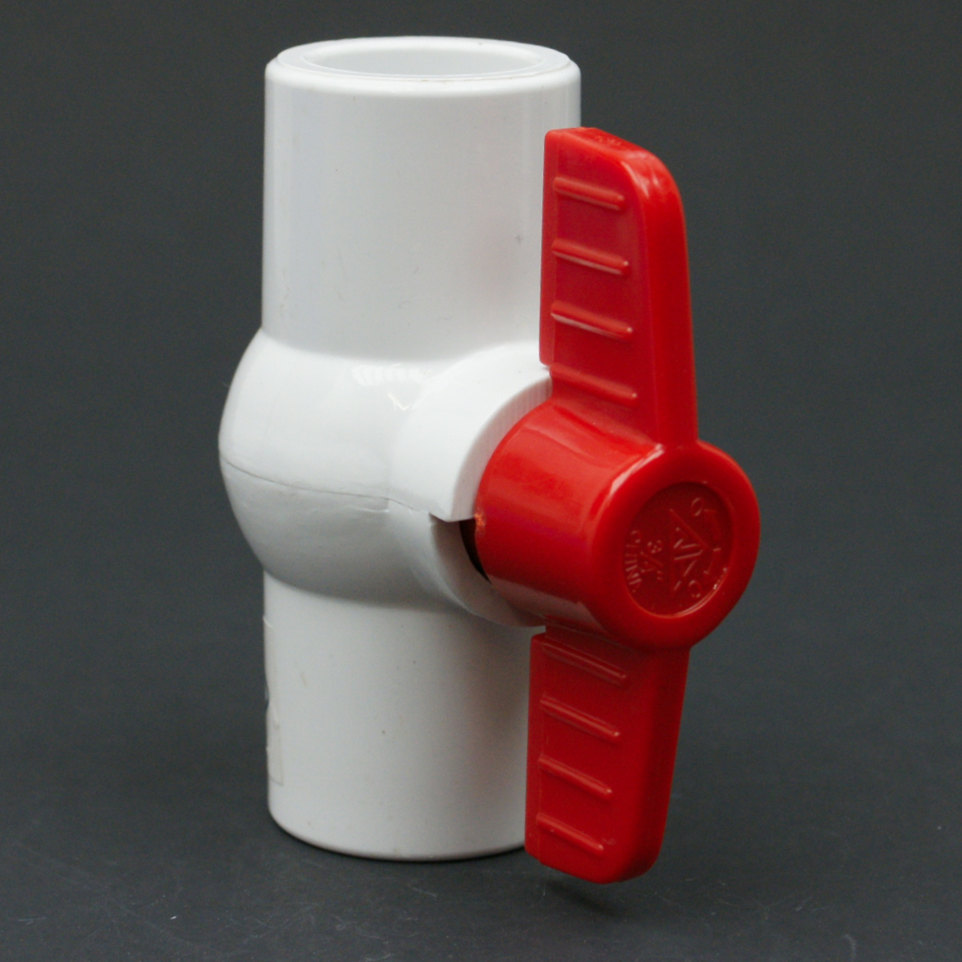 PVC Schedule 40 FPT Ball Valve