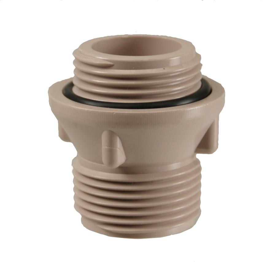 Dura Manifold System TBE Nipple: Metal Threads