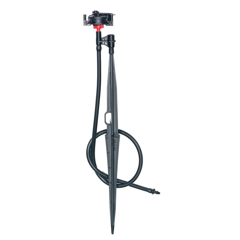 32 GPH Microsprinkler on Spike with Adjustable Stream