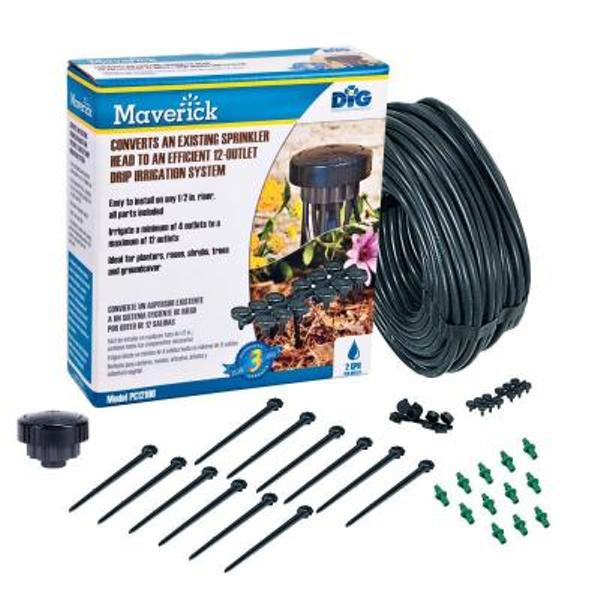 Maverick 12-Zone High Flow Sprinkler Converter Kit 4 Gph