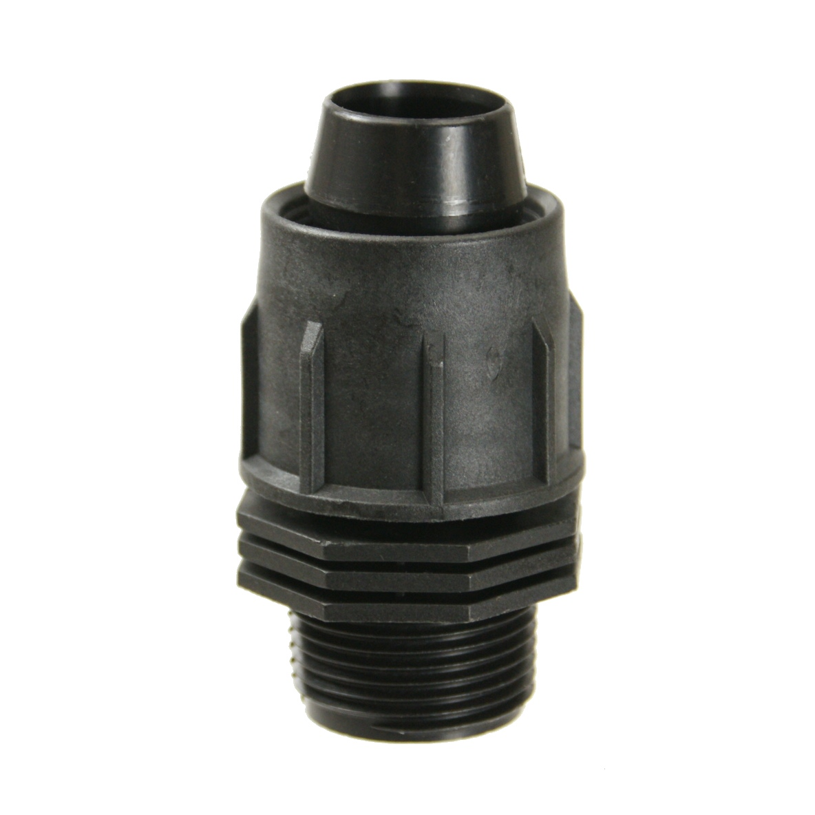 Perma-Loc Tubing Male Threads Adapter