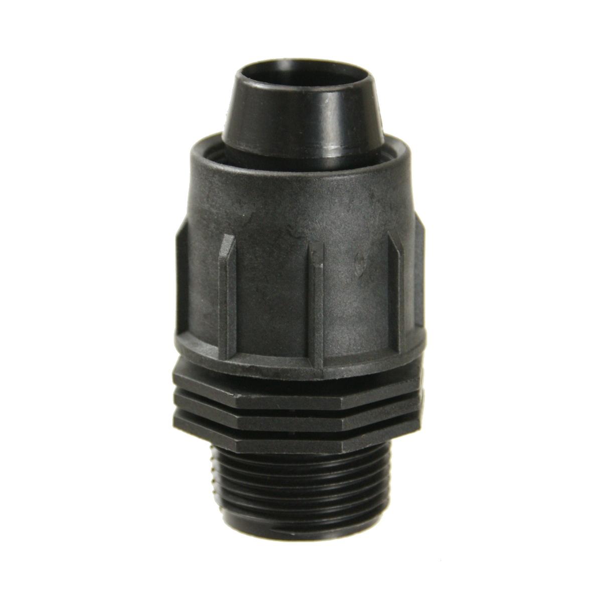 Perma-Loc Tubing Male Threads Adapter