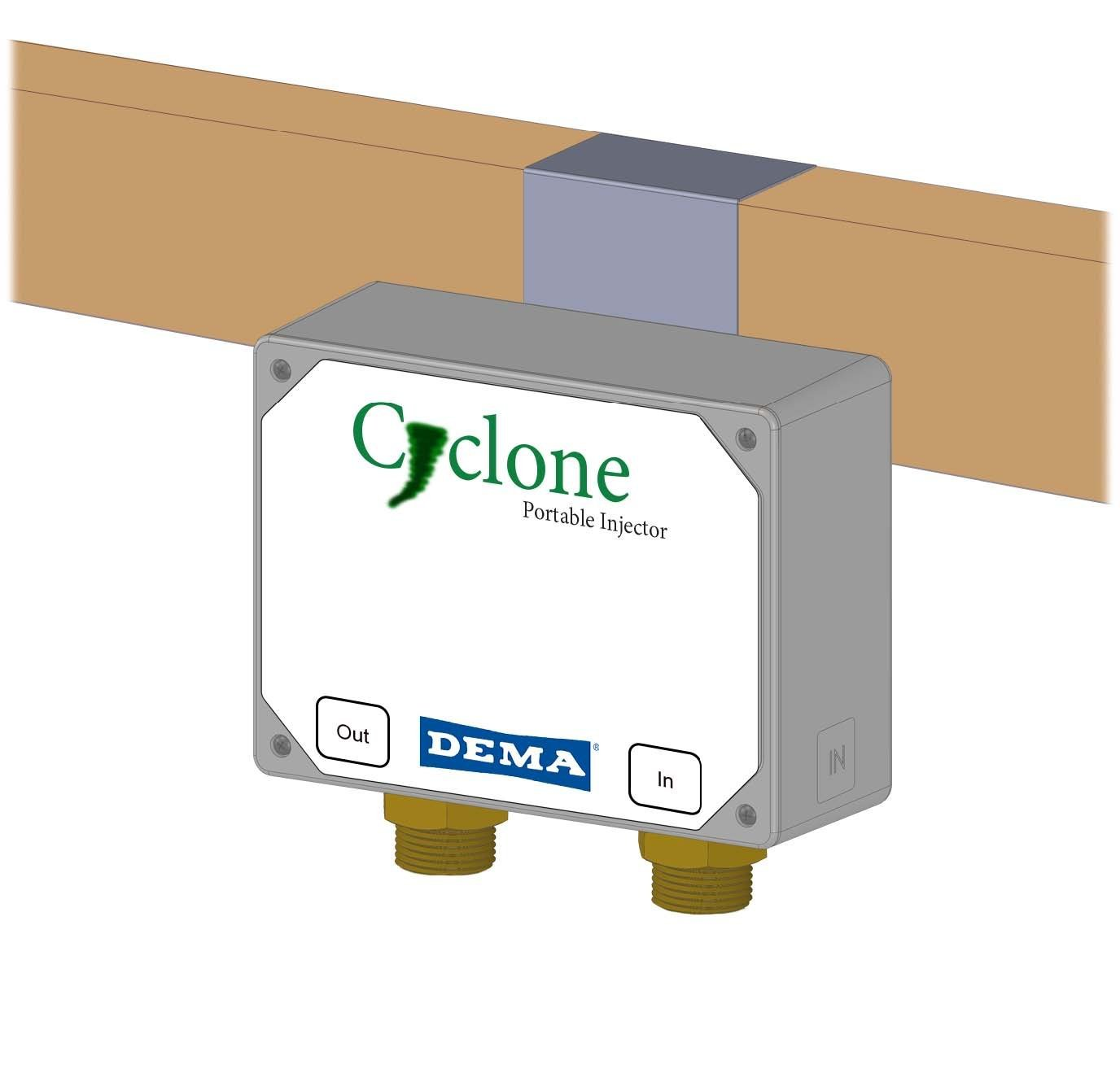 Dema Cyclone Portable Fertilizer Injector