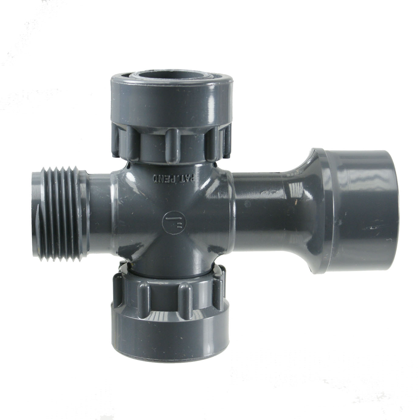 "Manifold System Cross:1""Slip x 1\""MPT x 1\""FPT Swivel x 1\""FPT Swivel"