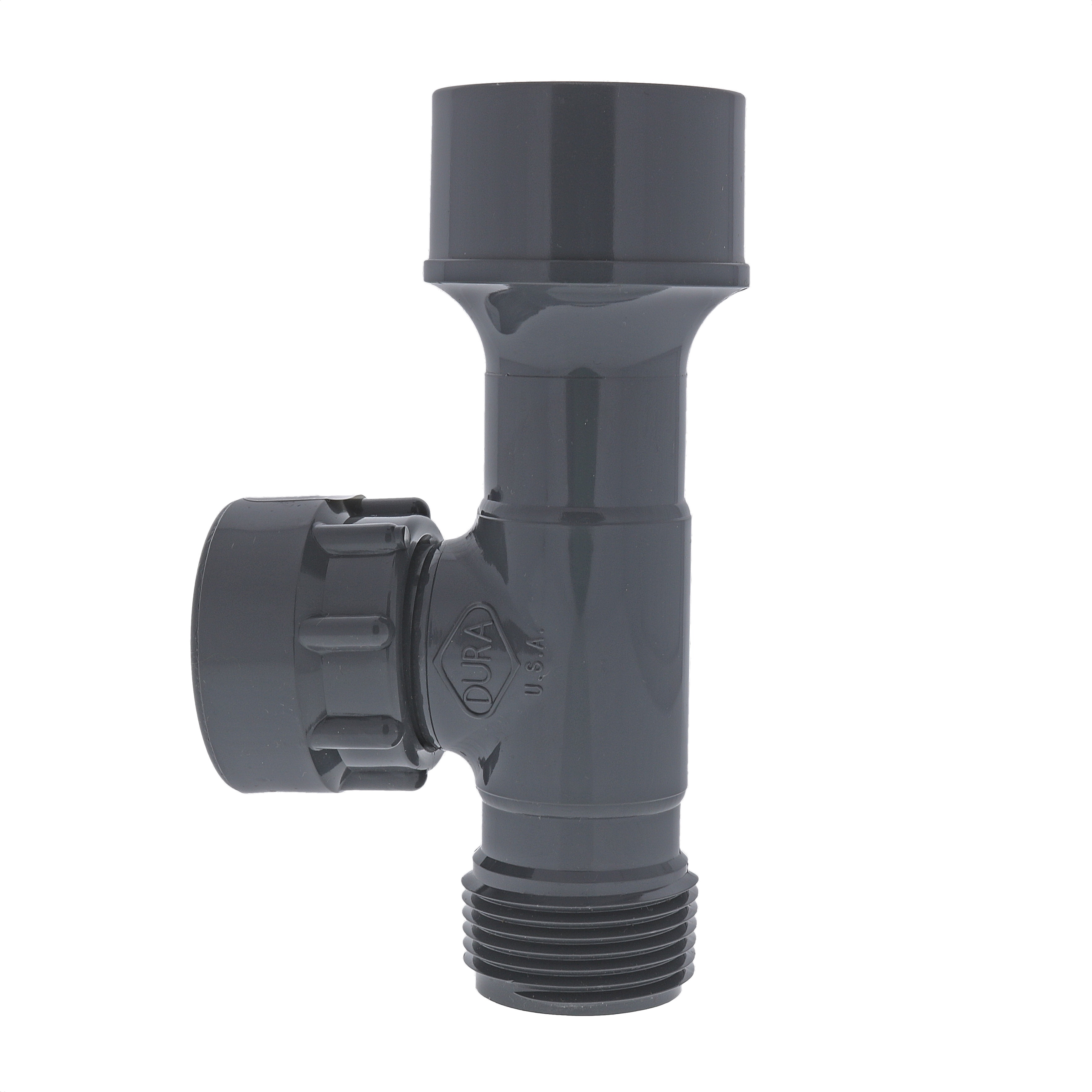 "Dura 1//2/"" Threads x 3//4/"" Barb Tubing Coupler Irrigation Tubing Adapter"