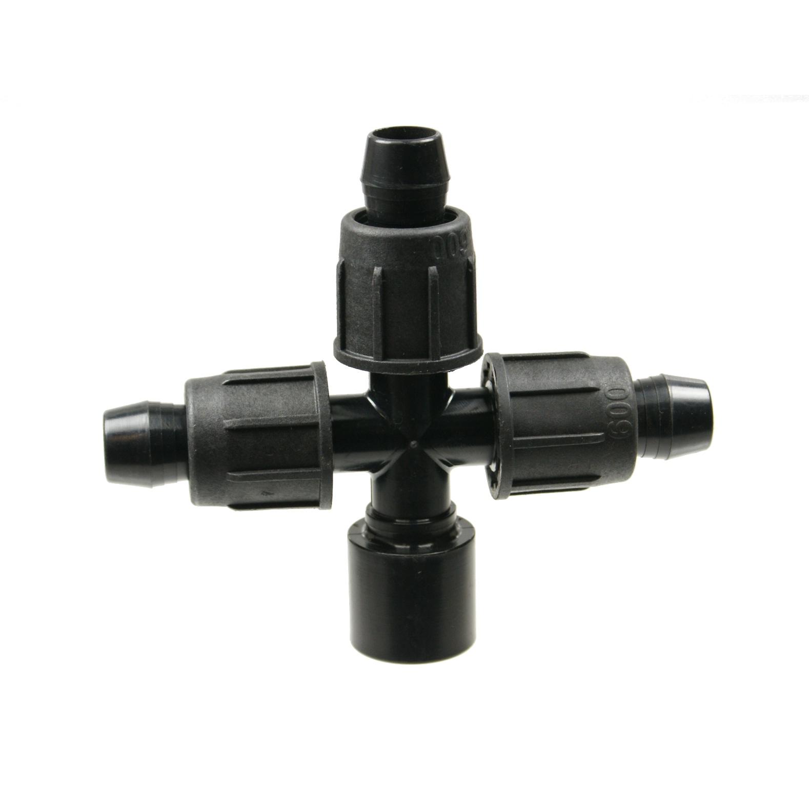Perma-Loc Tubing x Socket Cross Adapter