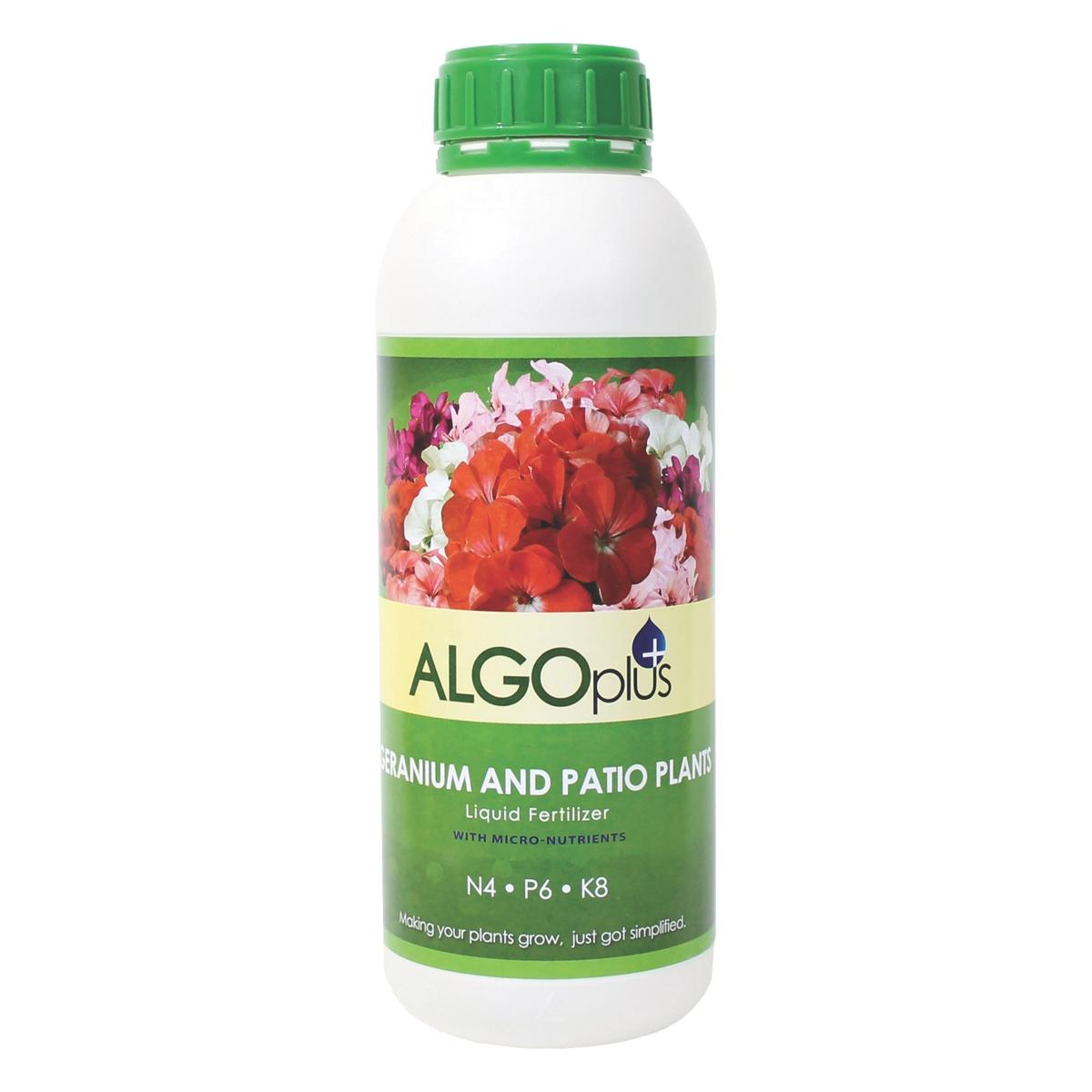 ALGOplus Geranium and Patio Plants