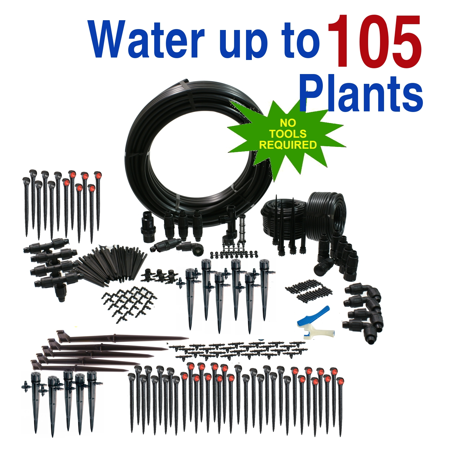 Premium Greenhouse Drip Irrigation Kit