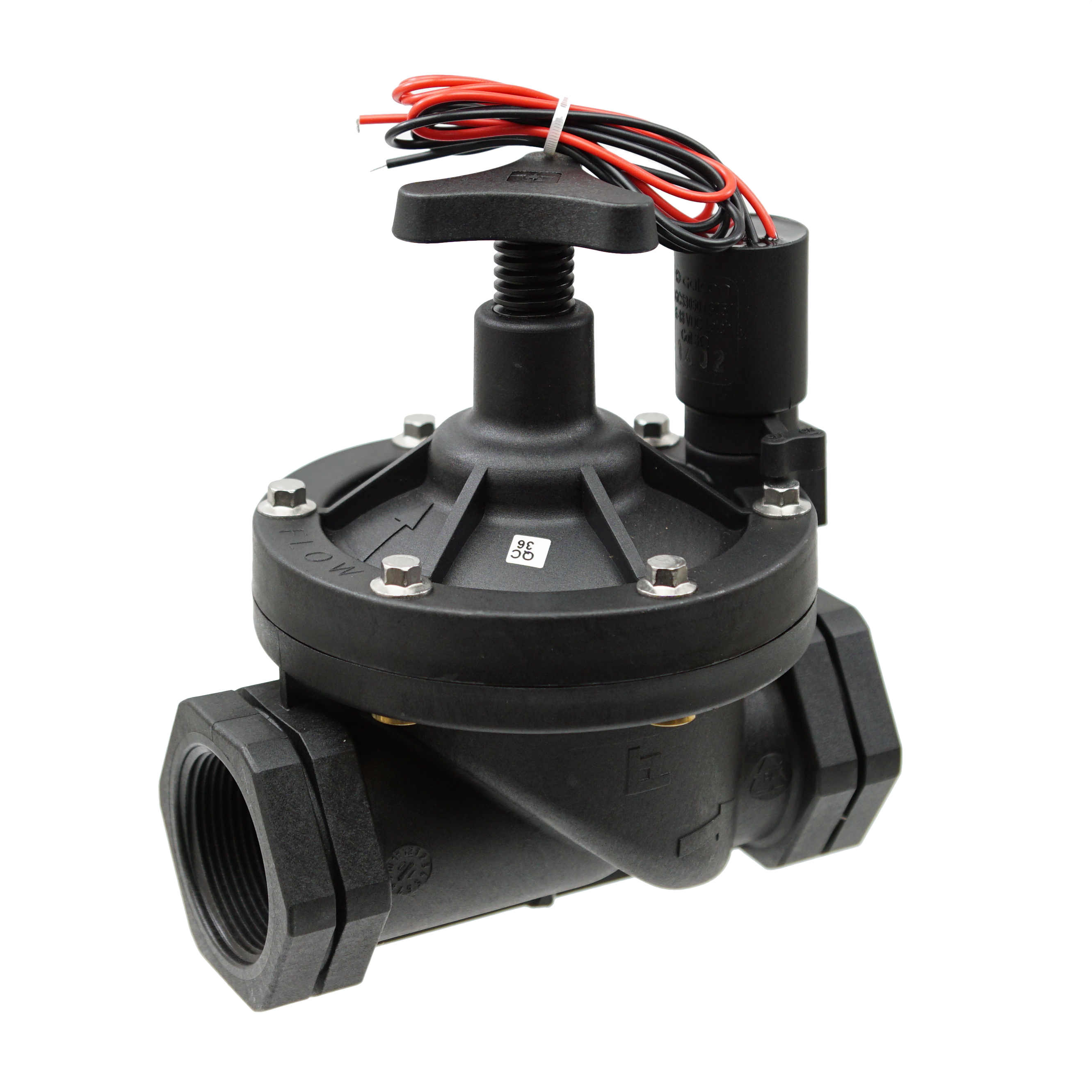 Galcon Valve w/ DC Latching Solenoid for Battery Operated Controllers