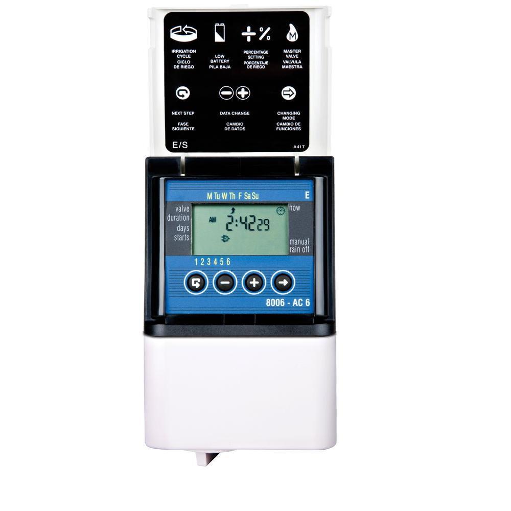 DIG 8006 6 Zone Digital AC Sprinkler Controller