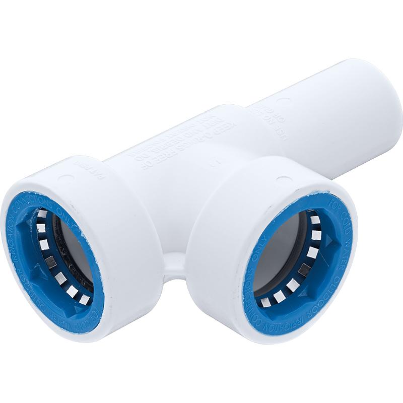 PVC-Lock Manifold Tee