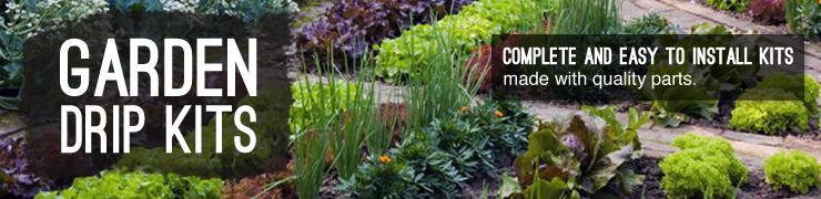 Shop drip irrigation kits vegetable gardens