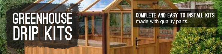 Shop drip irrigation kits greenhouse gardening