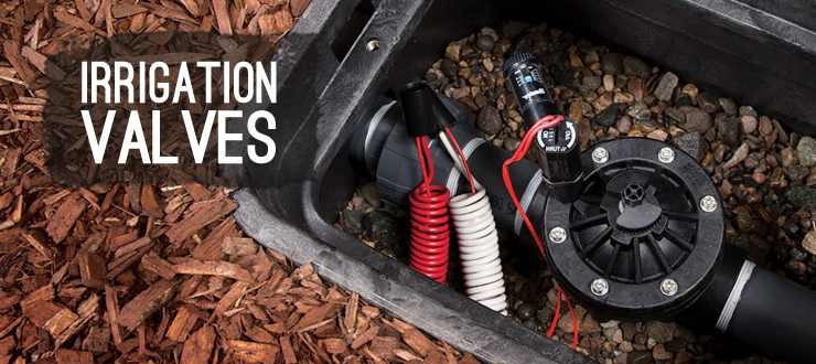 Shop drip irrigation valves