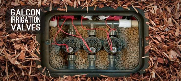 Shop drip irrigation valves galcon
