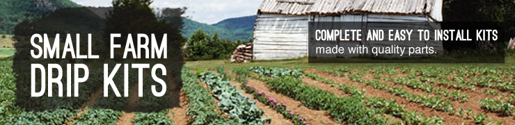 Shop drip irrigation kits small farms