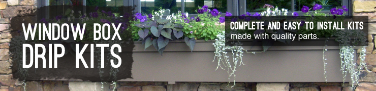 Shop drip irrigation kits window boxes