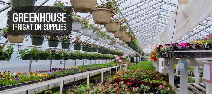 Shop greenhouse irrigation