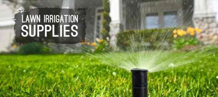 Shop lawn irrigation