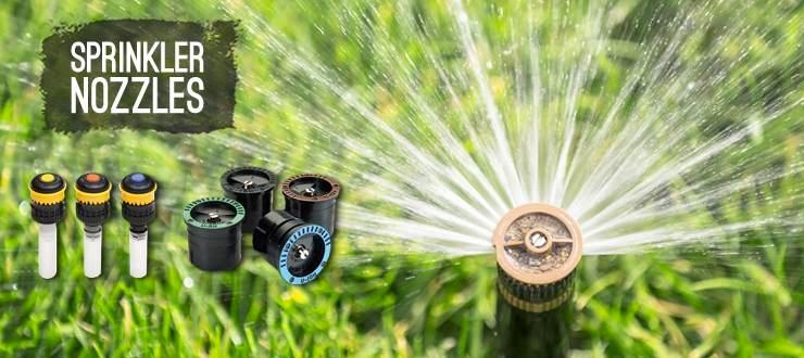 Shop lawn irrigation spray nozzles