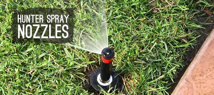 Shop lawn irrigation spray nozzles hunter