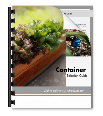 Container Garden Irrigation Kit Selection Guide