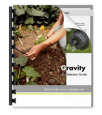 Gravity Irrigation Kit Selection Guide